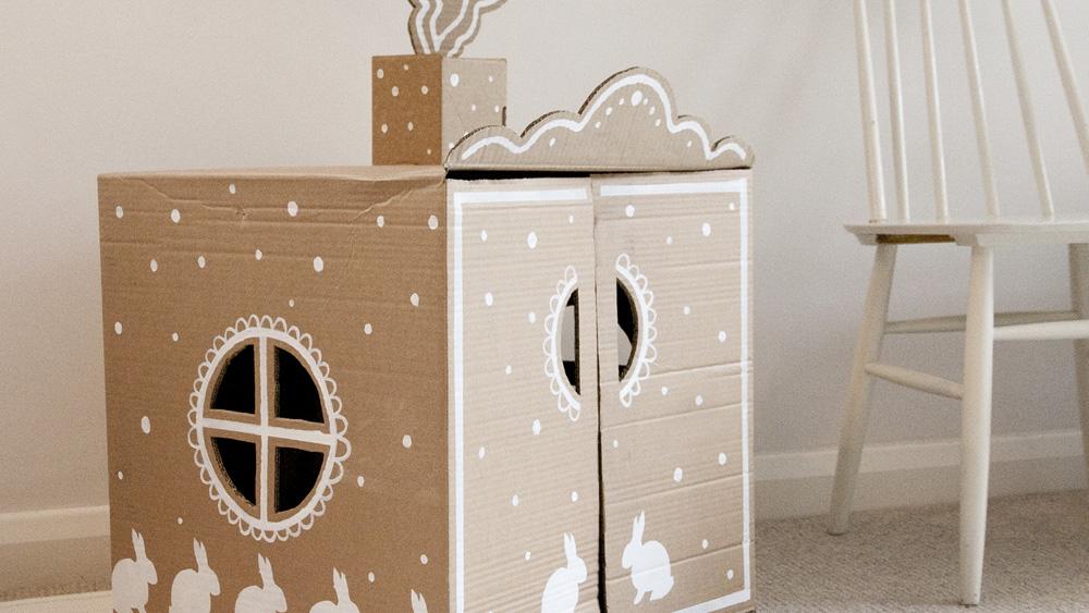 cabane en carton enfant magis