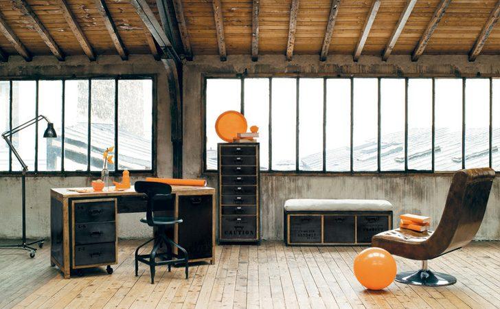 cr er une d co l 39 ambiance industrielle shake my blog. Black Bedroom Furniture Sets. Home Design Ideas
