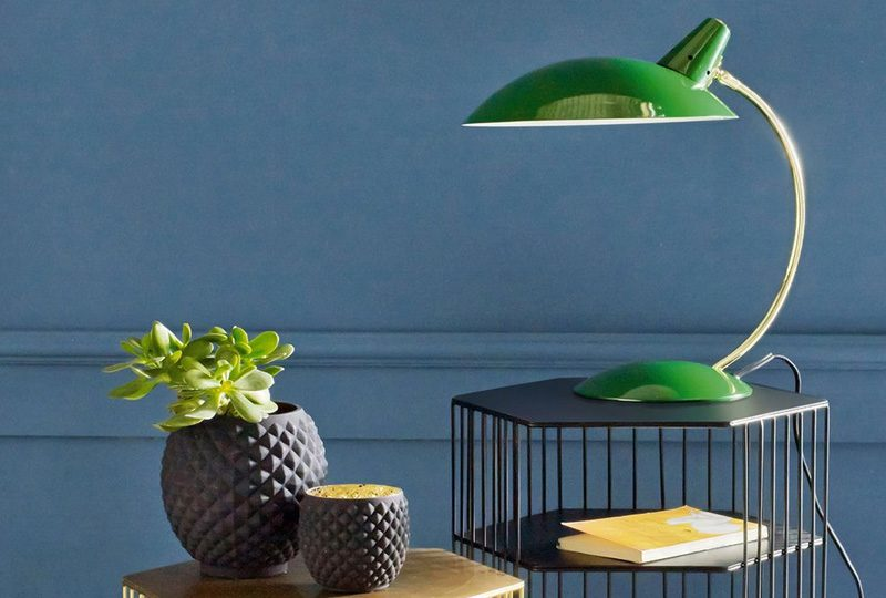 lampe table deco vintage