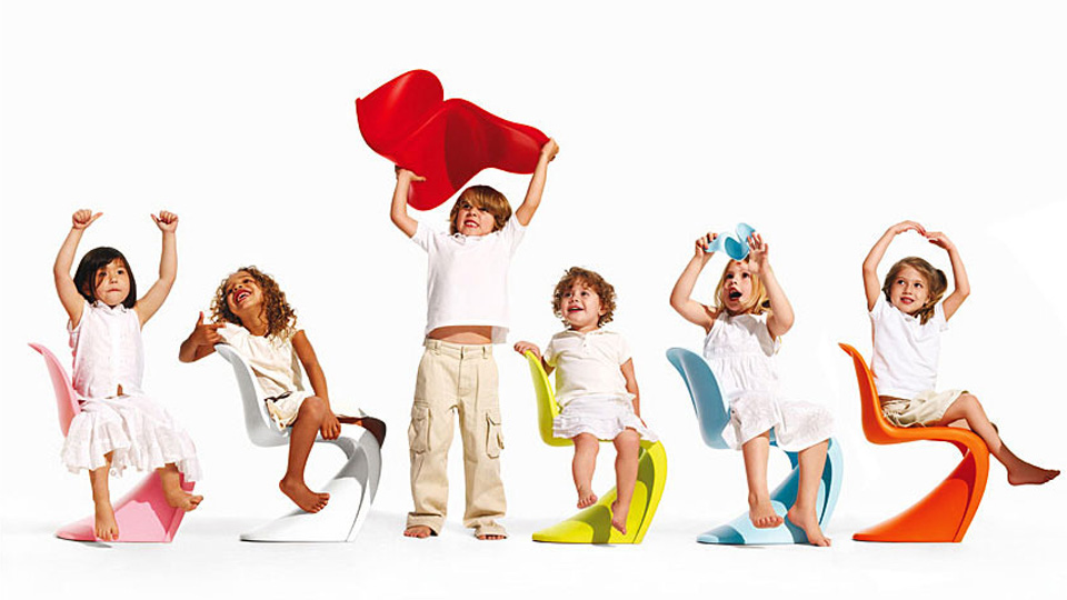 design enfant panton chair