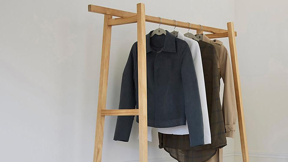 porte manteau bois deco