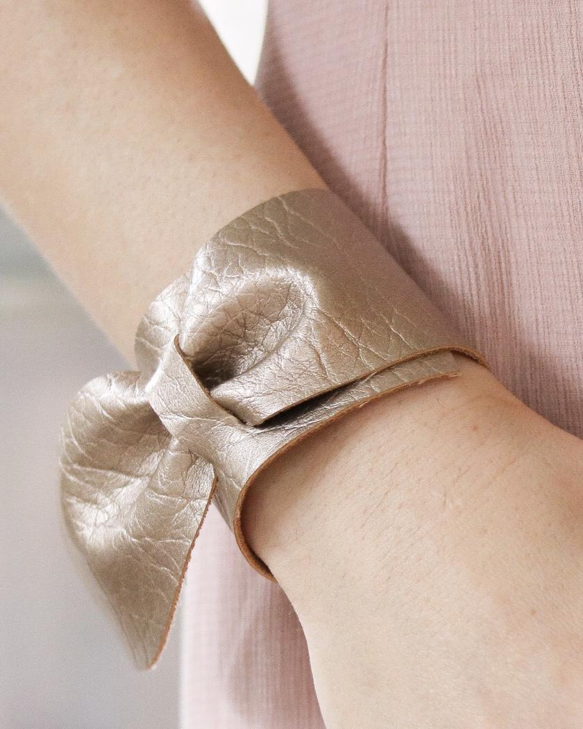 bracelet cuir diy
