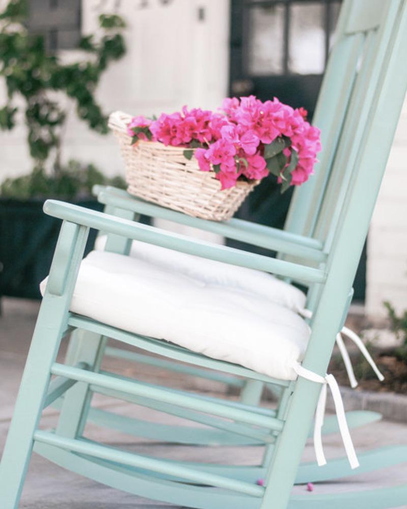 chaise bascule diy