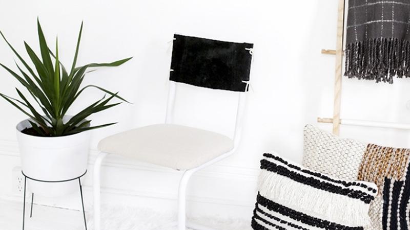 chaise customisée diy