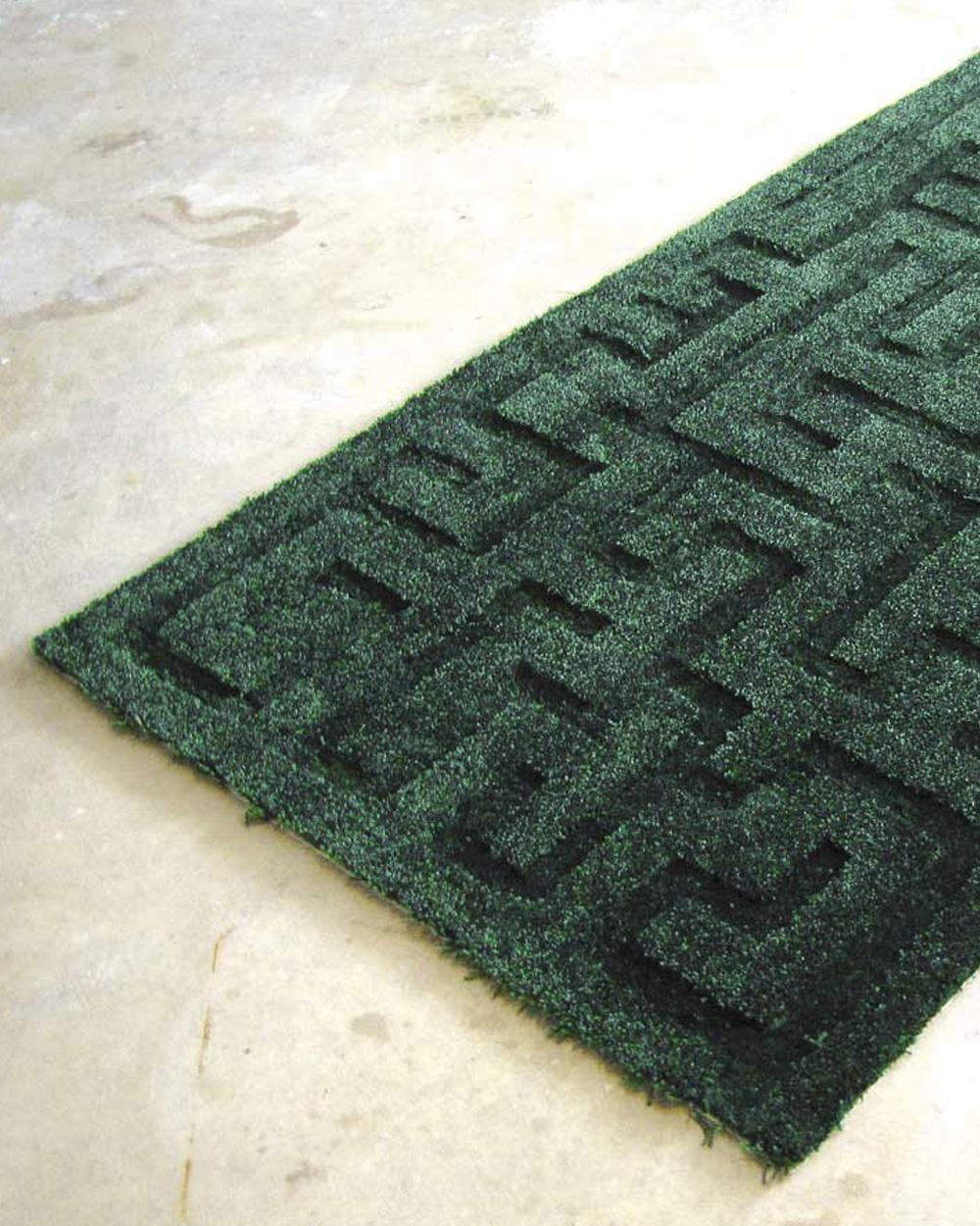 tapis motif diy