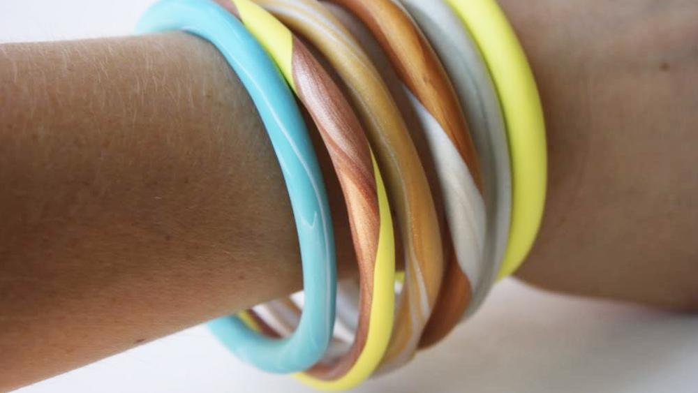 bracelet diy pate fimo