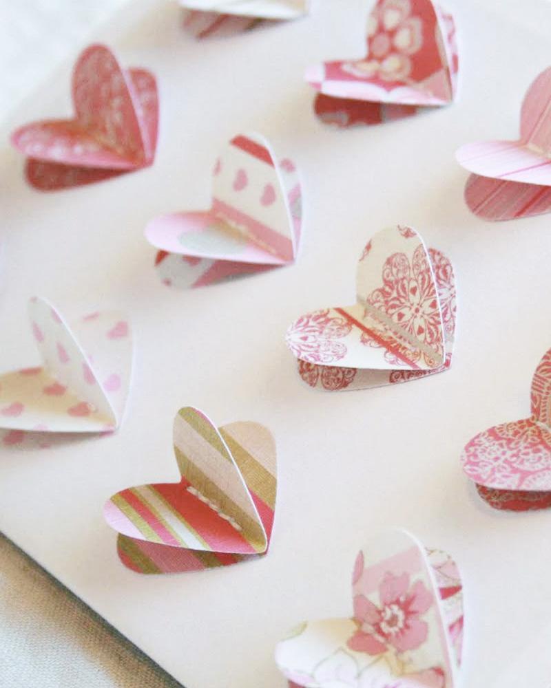 carte coeur diy saint valentin