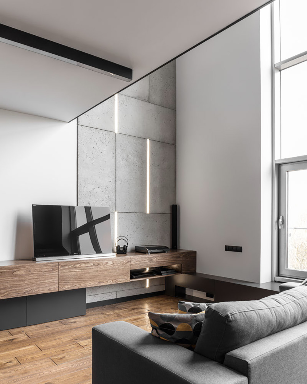Un loft mezzanine contemporain   Shake My Blog