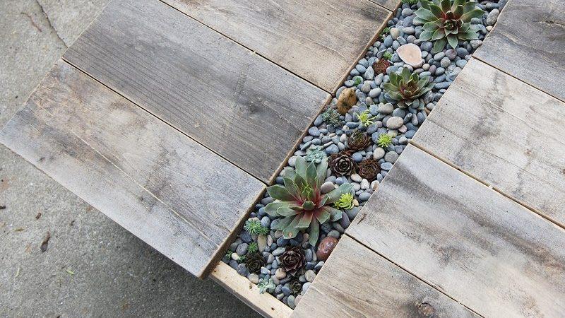 table jardiniere diy