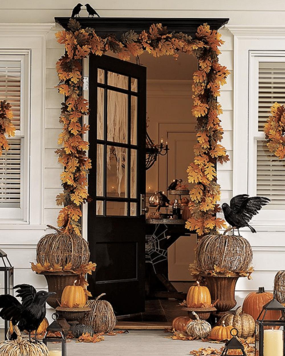 deco halloween entrée