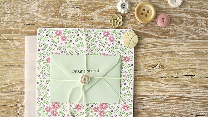 des cartes de remerciement diy pour votre mariage shake my blog. Black Bedroom Furniture Sets. Home Design Ideas