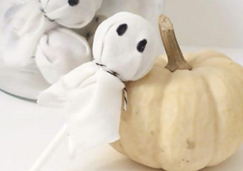 recette sucette fantôme halloween