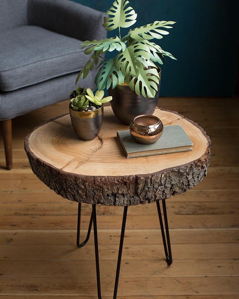 une table basse naturelle diy en bois shake my blog. Black Bedroom Furniture Sets. Home Design Ideas
