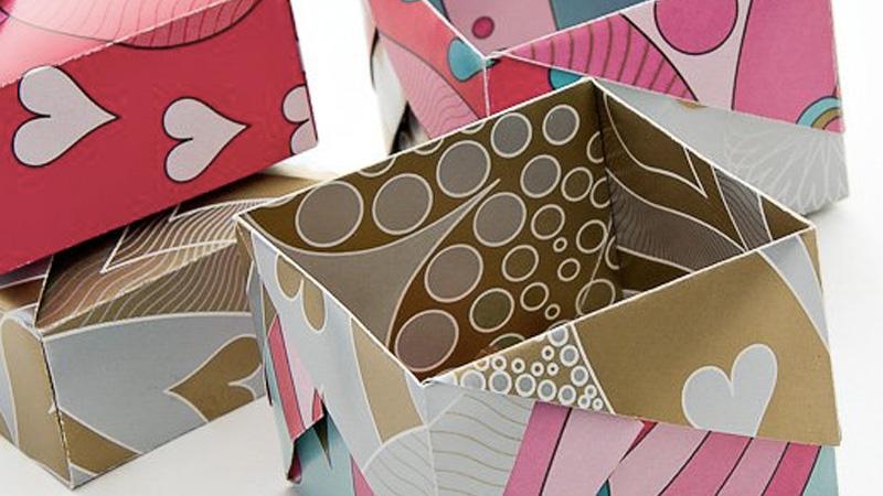 boite origami diy