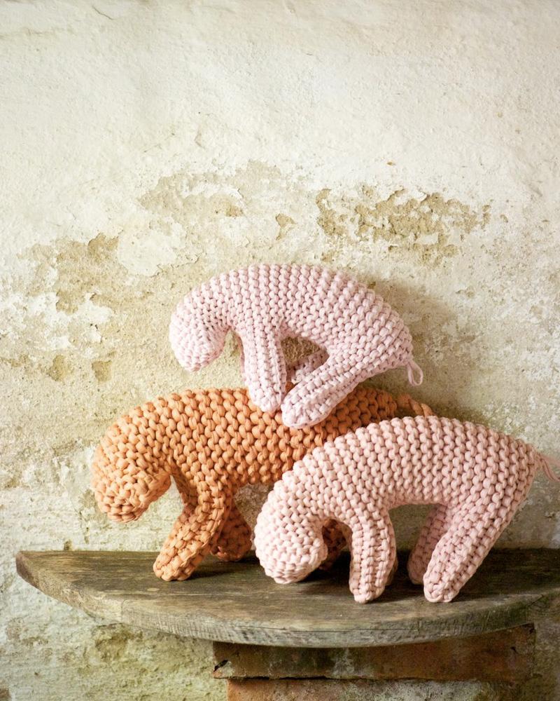doudou tricot diy