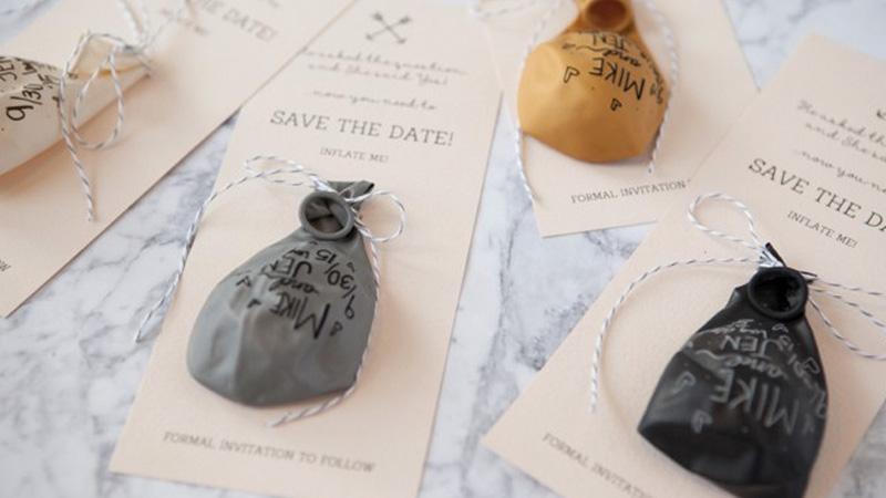 des ballons faire part diy pour votre mariage shake my blog. Black Bedroom Furniture Sets. Home Design Ideas