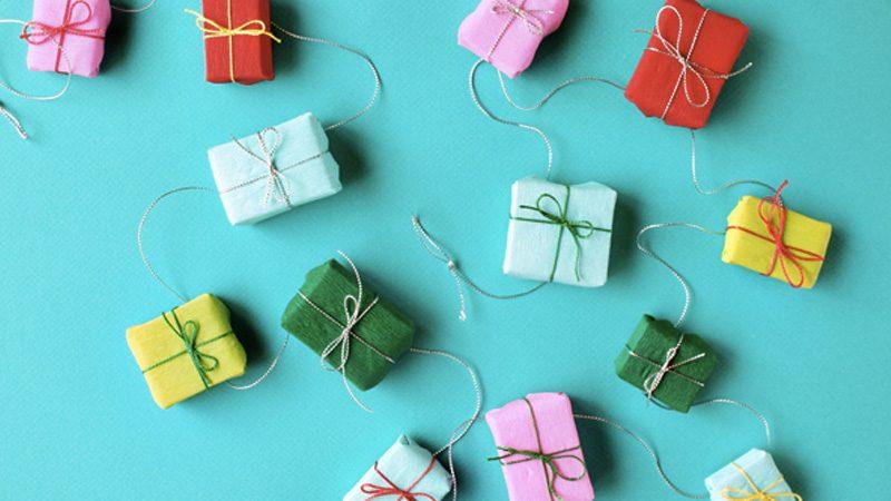 guirlande cadeaux diy noel