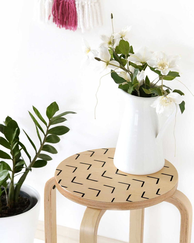 table appoint tabouret Ikea diy