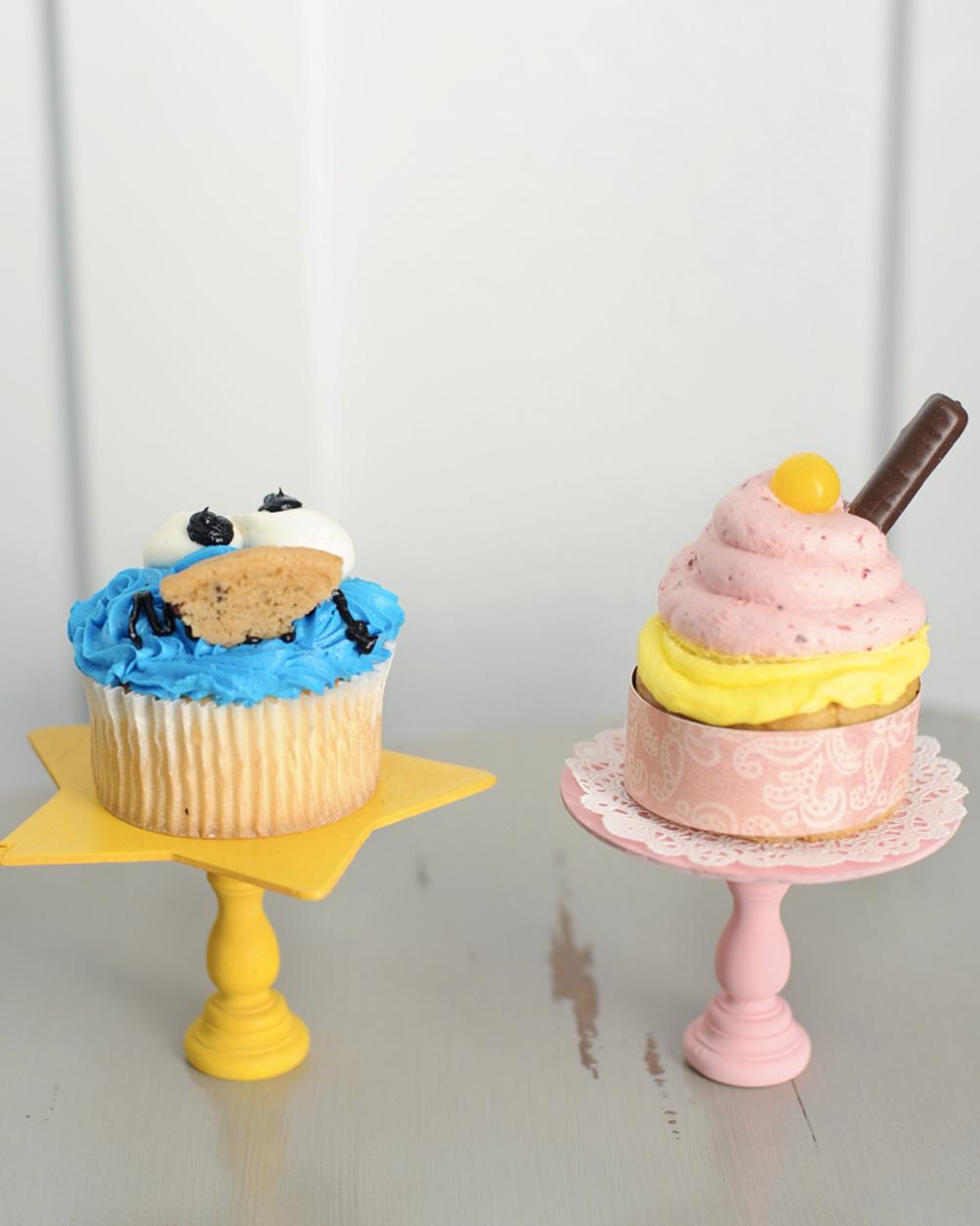mini cakestand diy