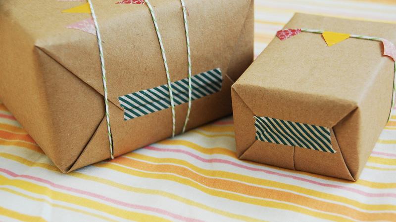 paquet cadeau diy noel