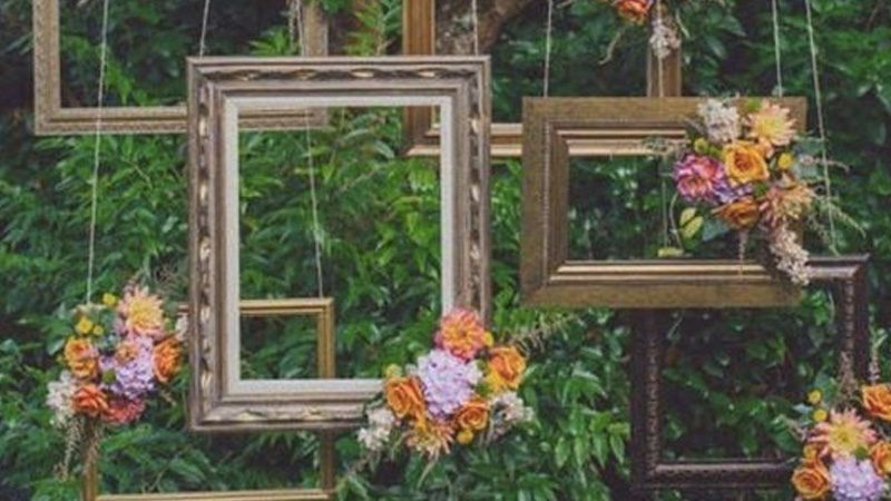 photobooth cadre mariage diy