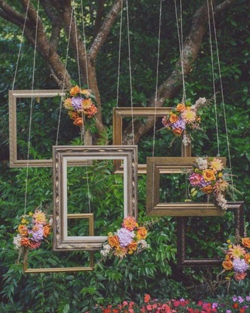 photobooth cadre mariage diy