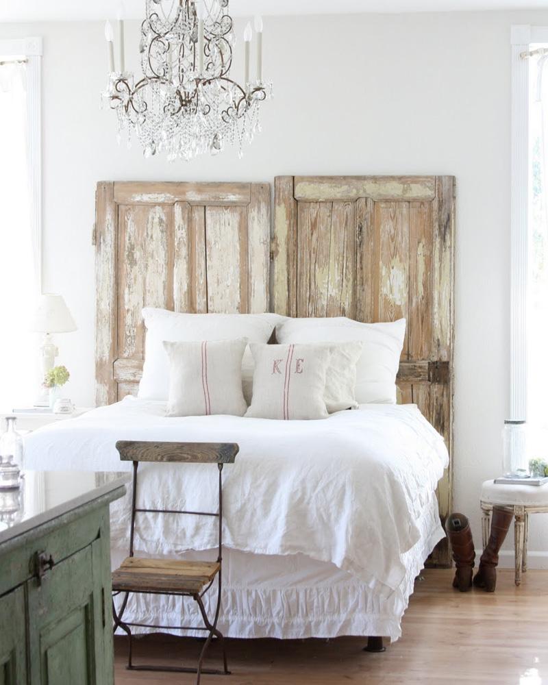 tete de lit porte diy