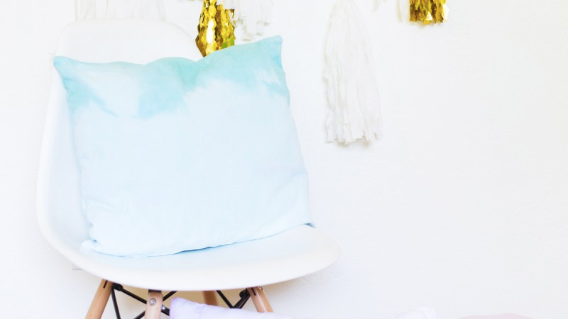 coussin ombre diy