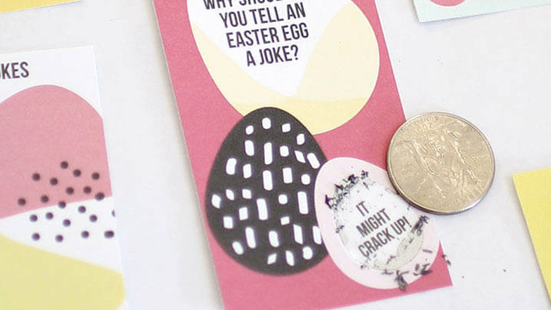 ticket a gratter diy enfant