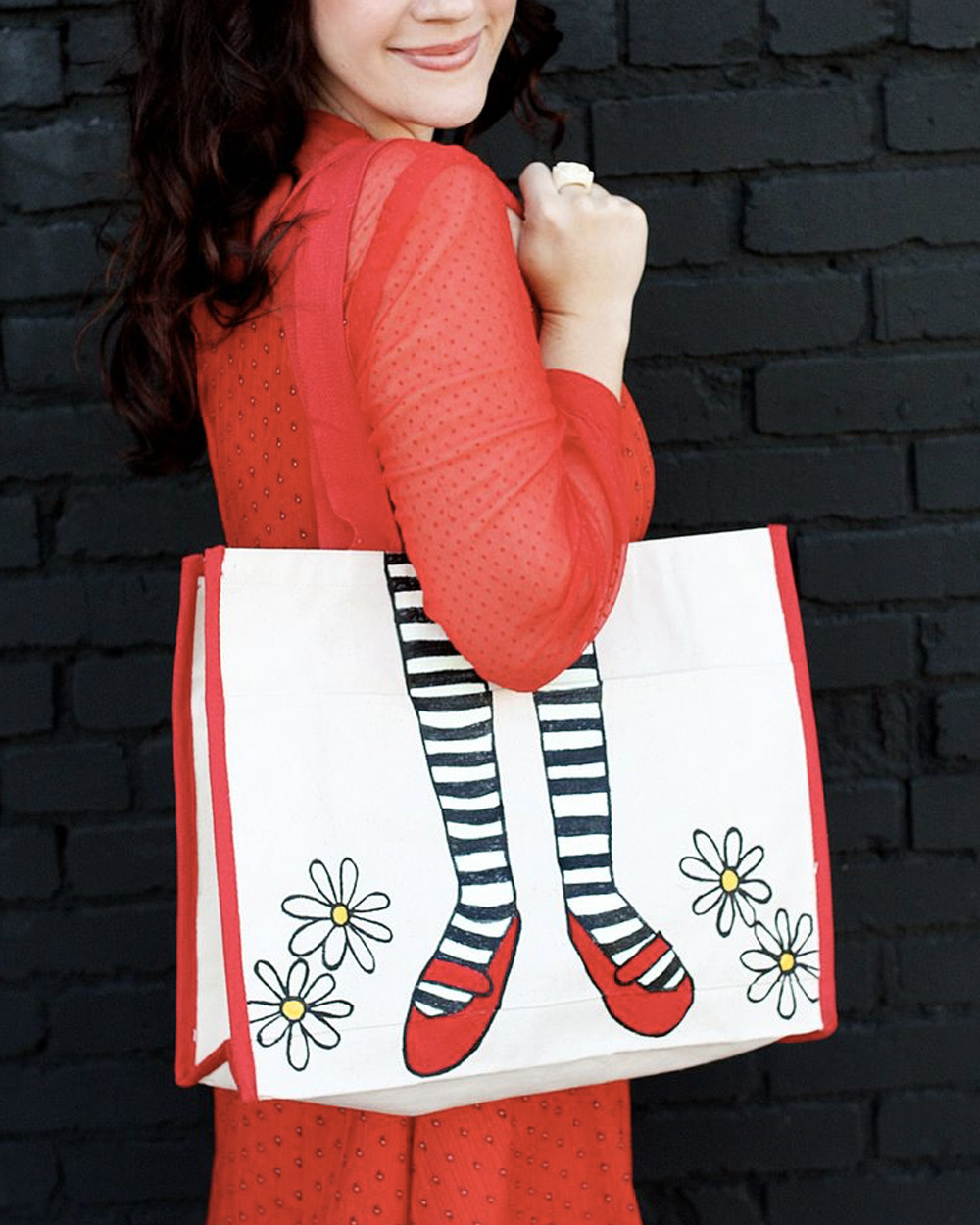 tote bag shopping diy