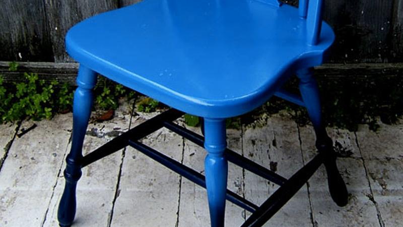 chaise dégradée diy