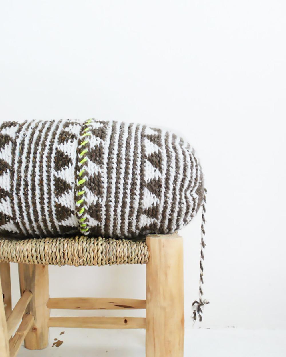 coussin marocain crochet