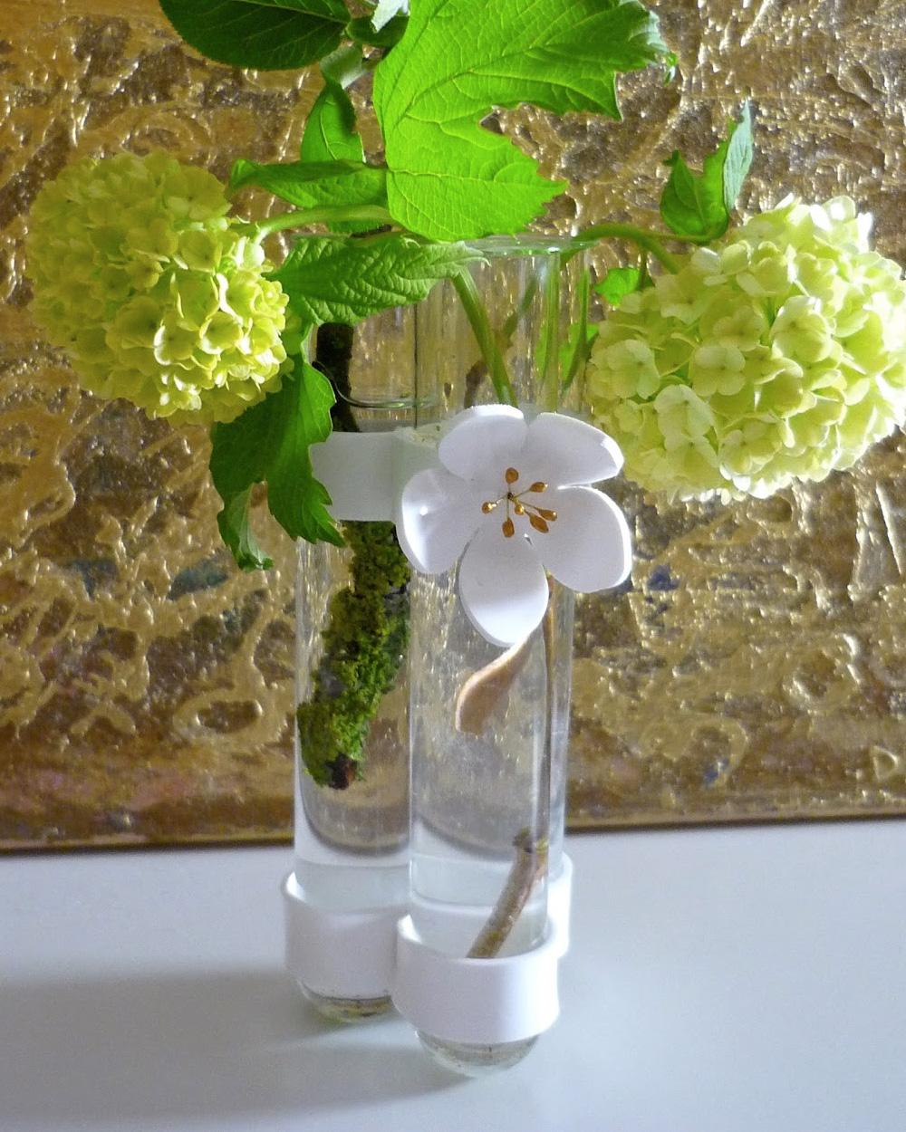 fleur diy plastique fou