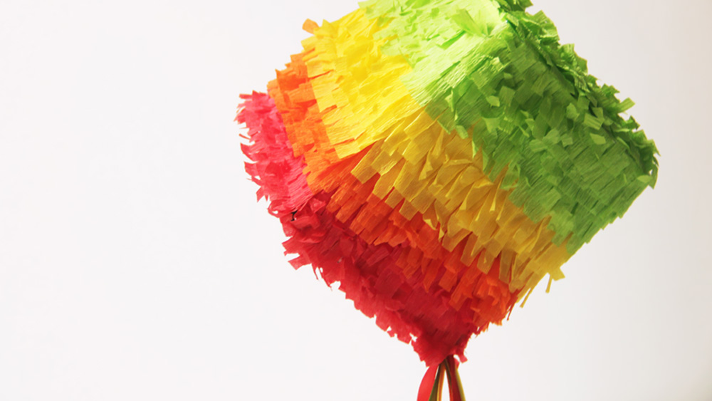 mini pinata diy
