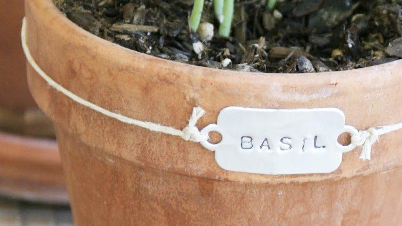 marque plante vintage diy