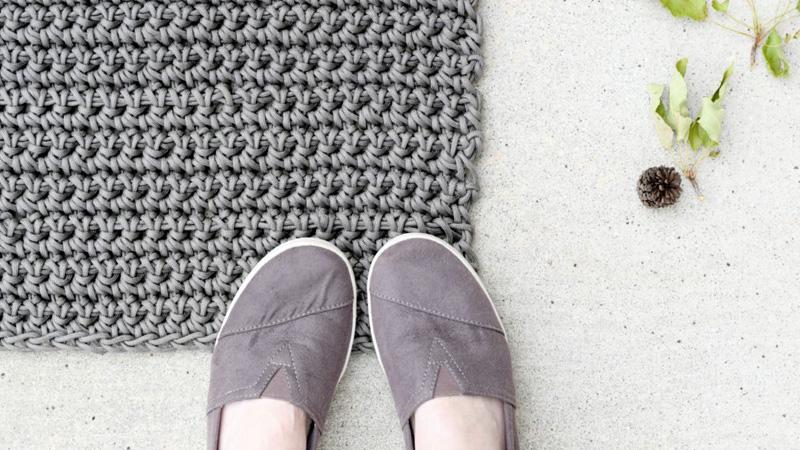 tapis extérieur diy