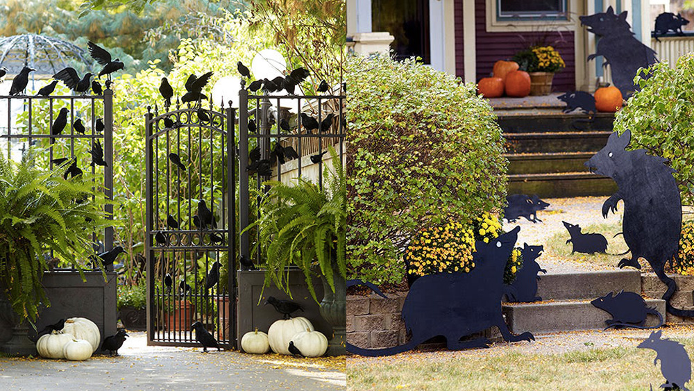 des diy pour d corer votre jardin pour halloween shake my blog. Black Bedroom Furniture Sets. Home Design Ideas