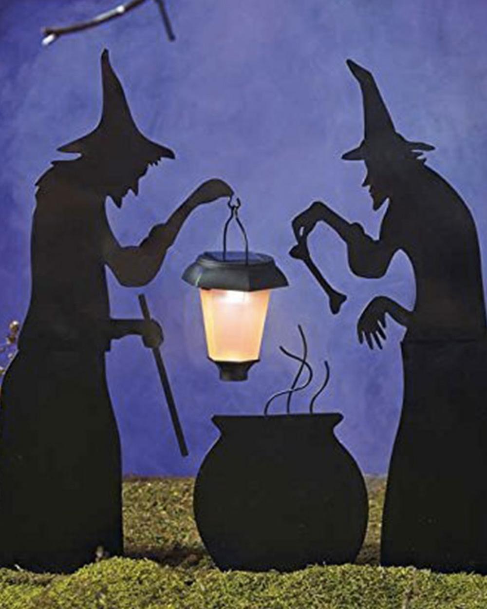 deco jardin halloween
