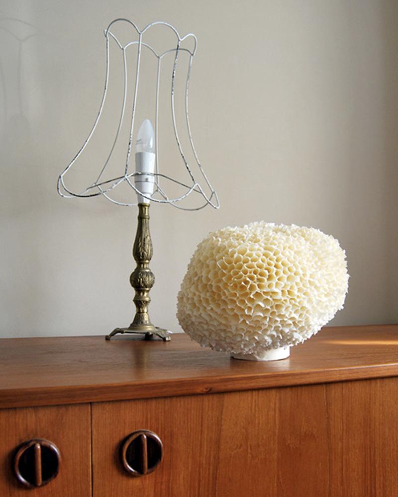 lampe éponge diy