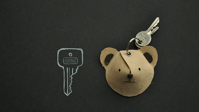 porte clé animal diy
