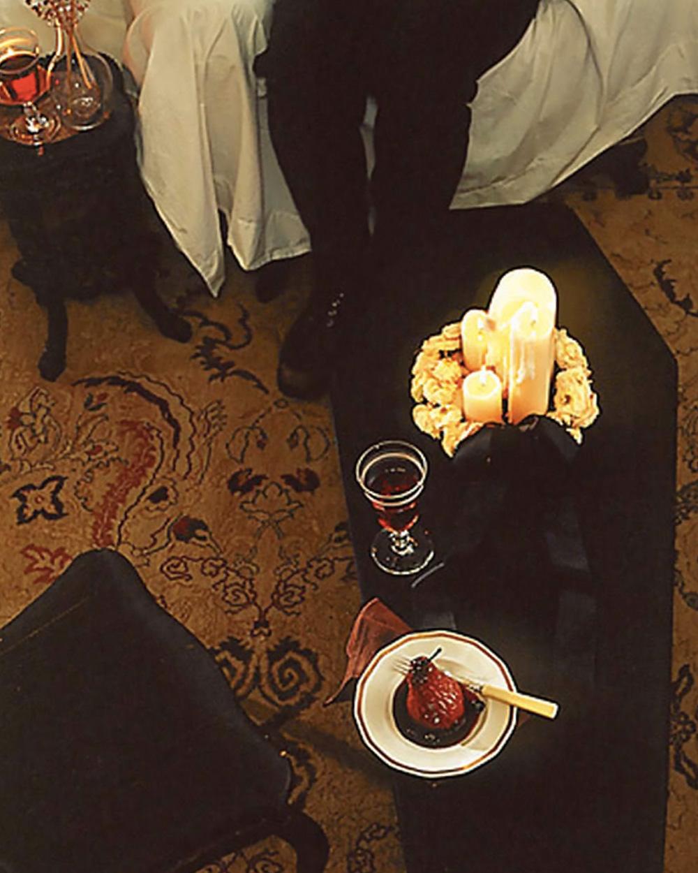 table cercueil diy halloween