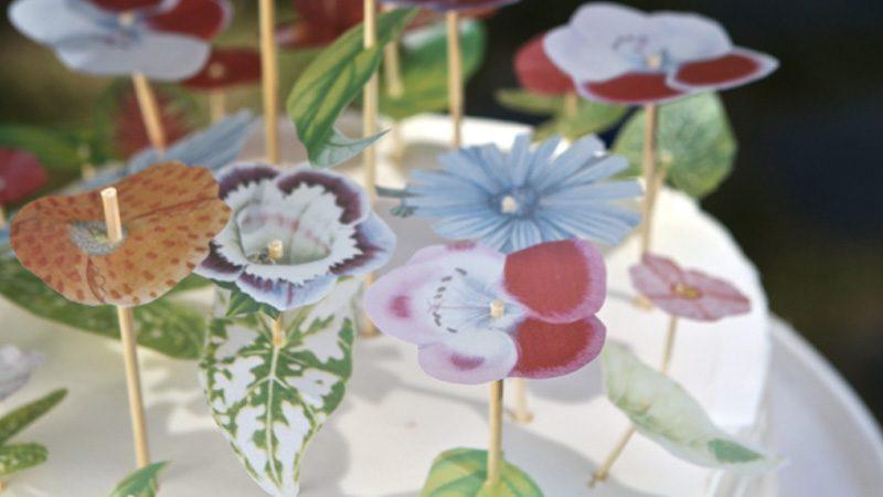 fleur papier vélin diy
