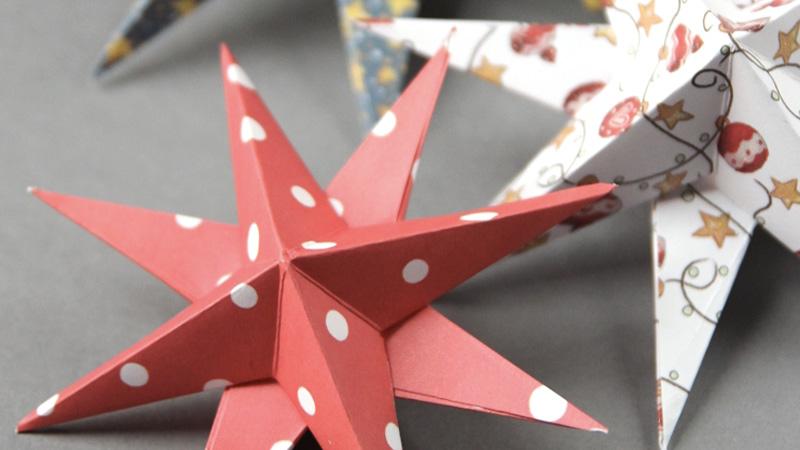 deco sapin origami diy