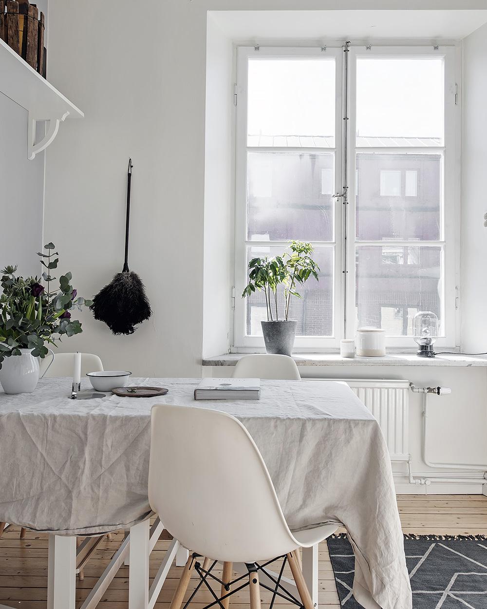 cuisine blanche deco nordique