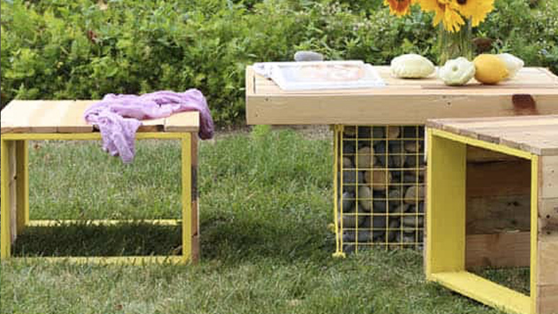 table jardin moderne diy