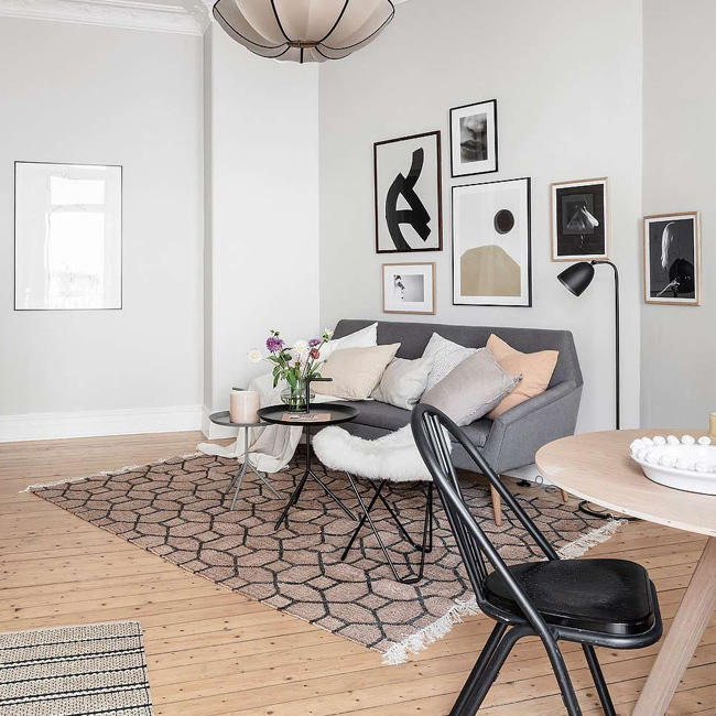 deco scandinave salon moderne