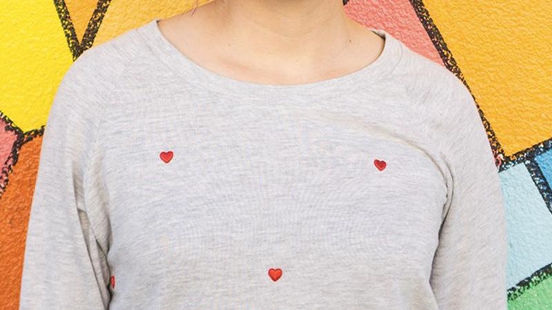 pull coeur diy