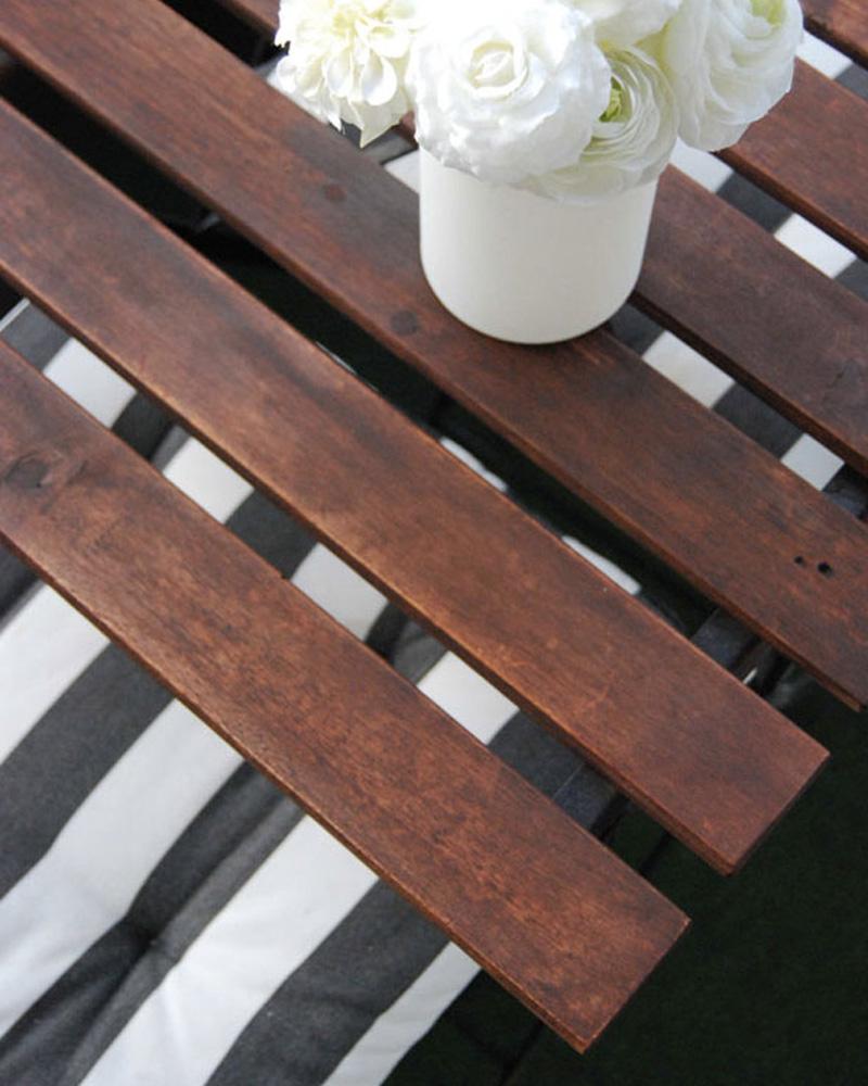 renover salon jardin bois