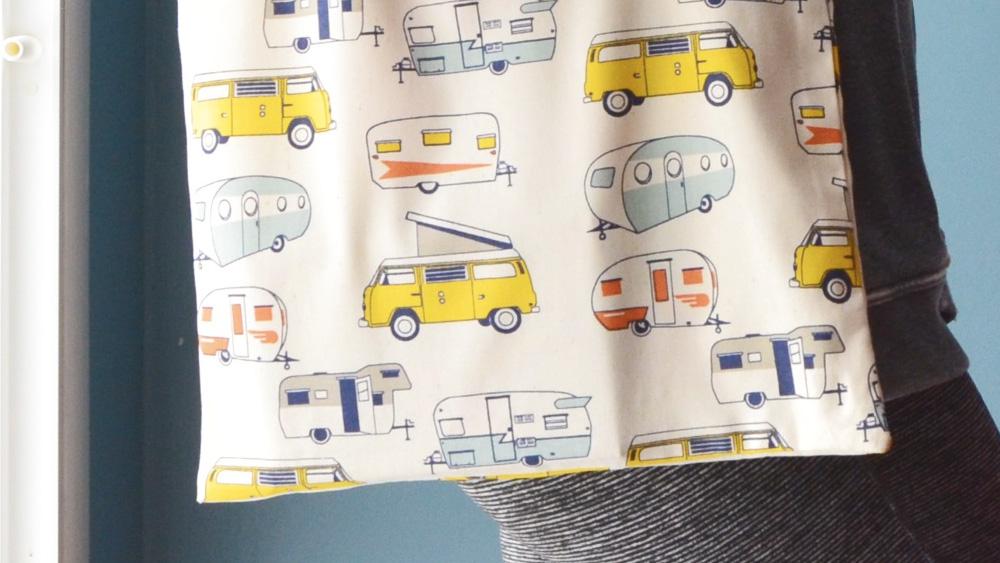 tote bag motif imprime diy