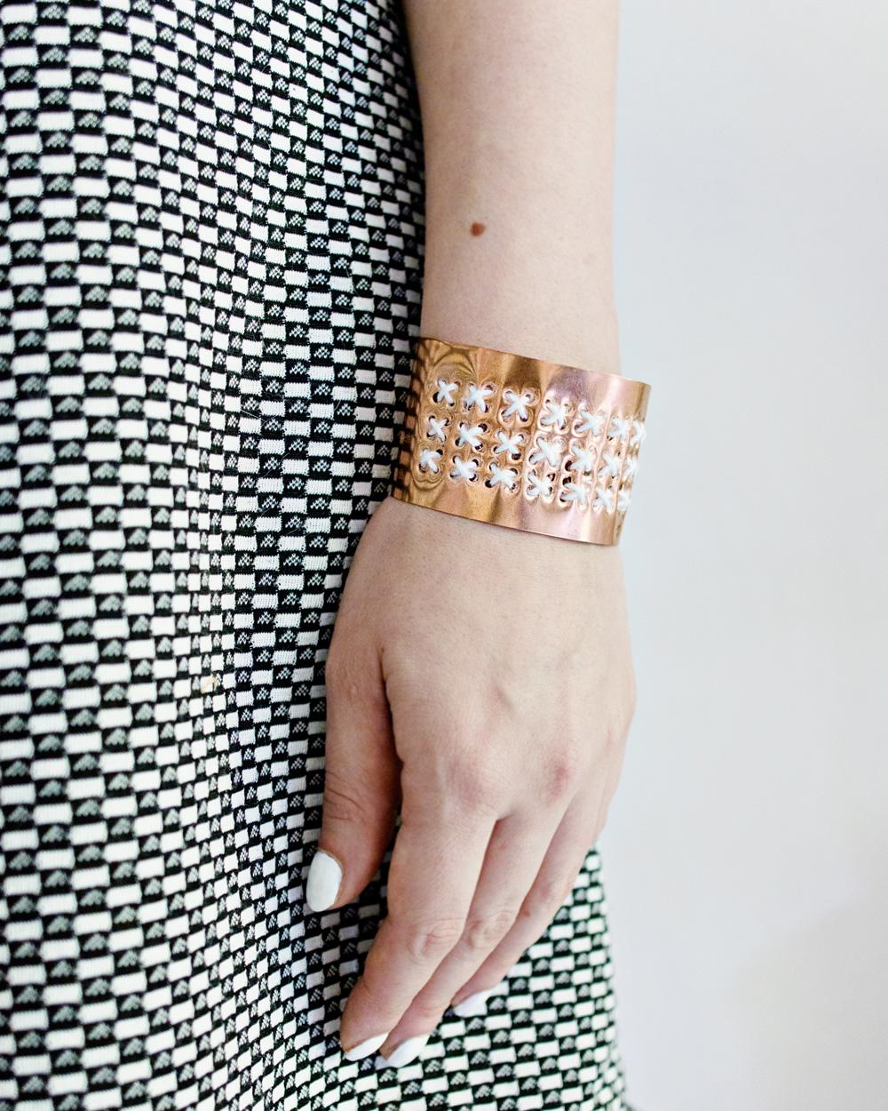 bracelet cuivre diy